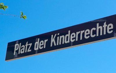 Platz der Stadt Ravenna UND Platz der Kinderrechte!